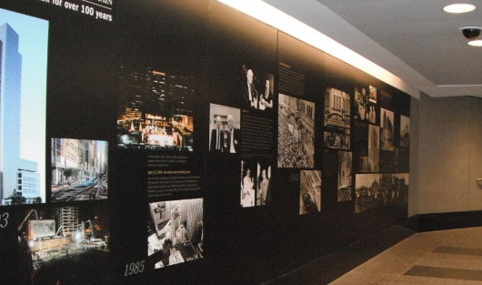Pictures in Downtown Tunnel in Houston