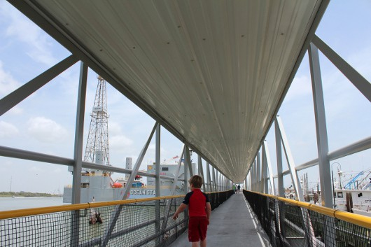 Ocean Star Drilling Museum Walkway