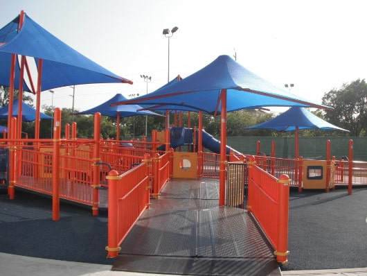 The Playground Without Limits at the Metropolitan Multi-Service Center