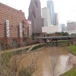 Buffalo Bayou at Preston Street Bridge