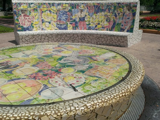 Market Square Park Fountain
