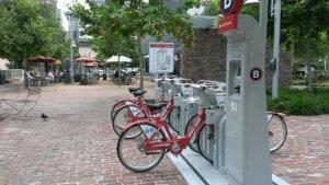 B Cycle Bikes Market Square Park