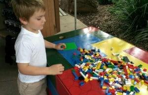Joe at Lego Table