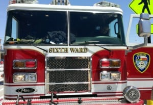 Sixth Ward Fire Truck