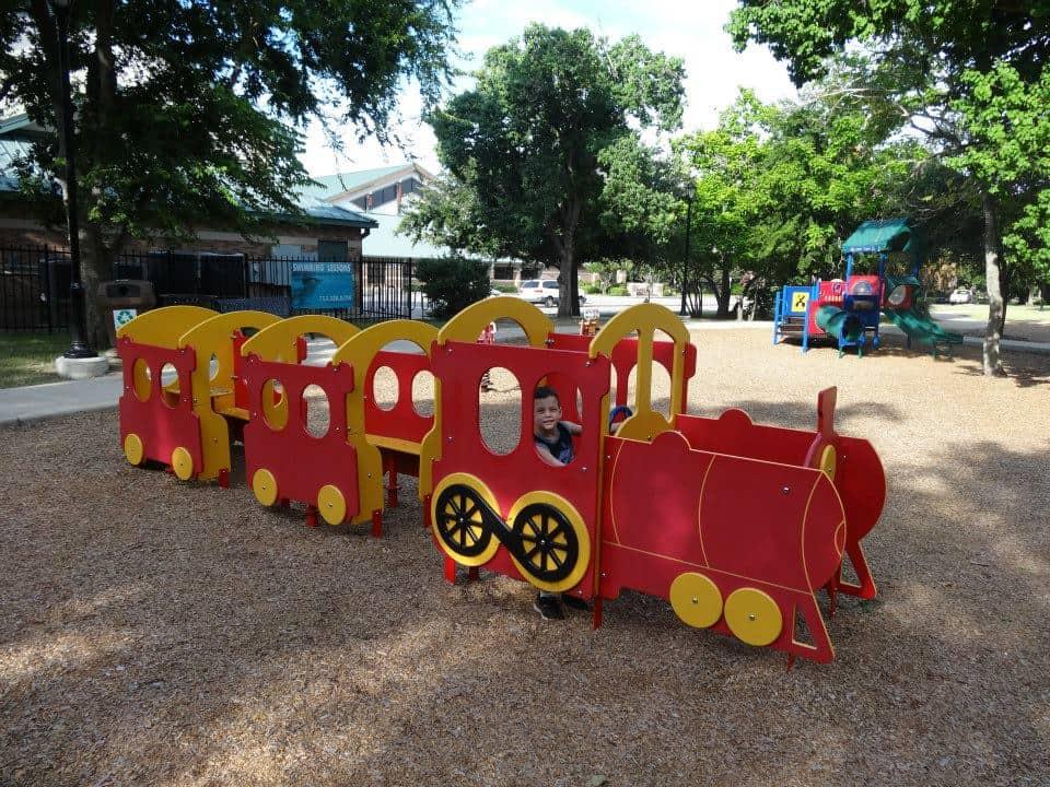 Bellaire Town Square Train