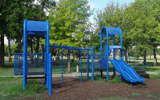 Spotts Park Blue Playground