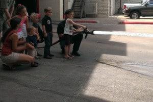 Fire Station 16 Fire Hose