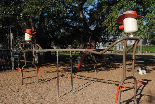 Fleming Park Monkey Bars