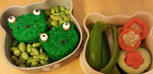 Frog Rice Balls5