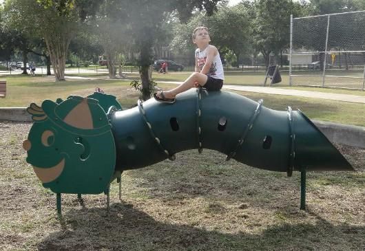 Karl Young Park Caterpillar