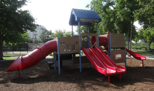 Spotts Park Red Playground