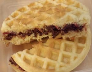 Waffle Sandwich Lunch Box