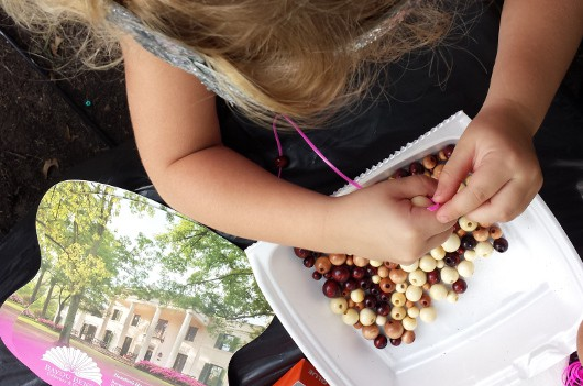 Bayou Bend Beads and Fan