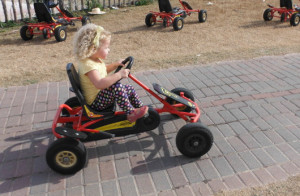 Pedal Cars at Dewberry Farm
