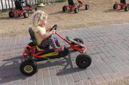 Pedal Cars at Dewberry Farm