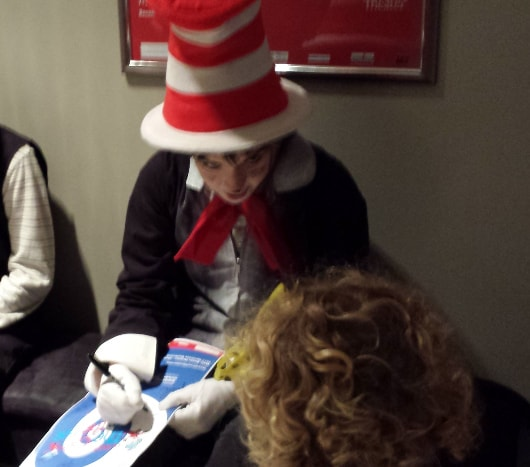 Cat In The Hat Actors: The Cat In The Hat At Main Street Theater, September 25