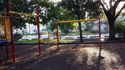Feld Park Zip Line and Bouncy Thing
