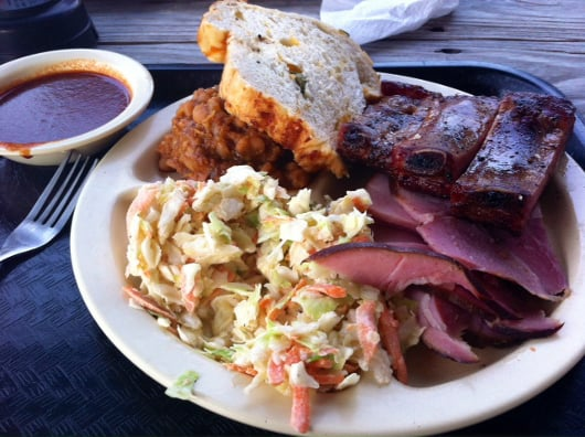 Goode Company Two Meat Plate