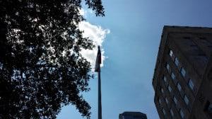 Houston City Hall Sky