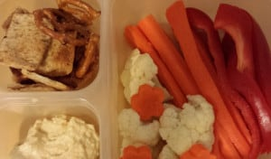 Hummus Dipping Lunch