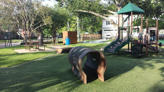 Judson Park West University Small Playground
