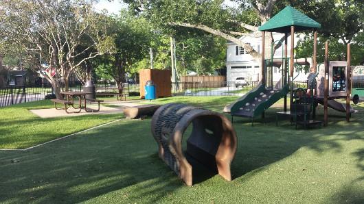 Judson Park West University Small Playground