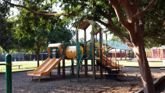 Poe Spark Park Play Structure