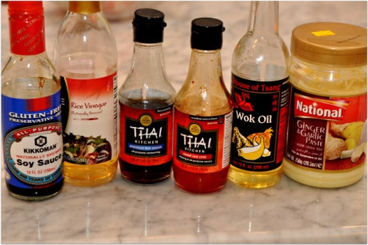 Asian Inspired Ingredients