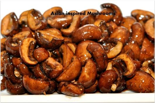 Asian Inspired Mushrooms