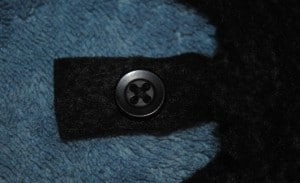 Bat Wing Button