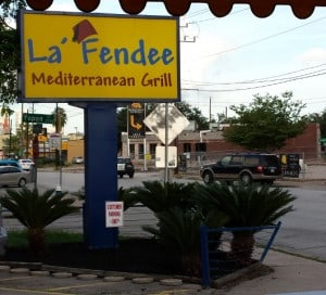 La Fendee Sign