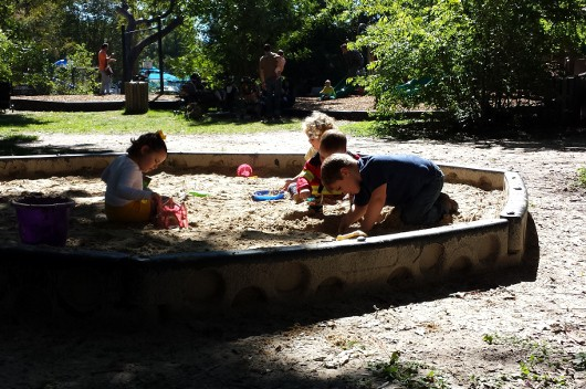 Nature Discovery Center Sand Box
