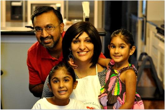 Pranika and Family