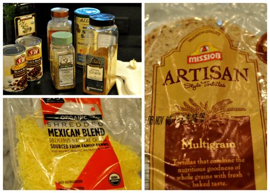 Quesadilla Cooking Supplies