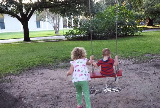 Red Swing at Menil Park