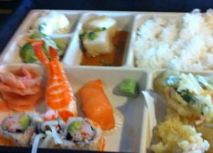 Sushi and Tempura Bento Box