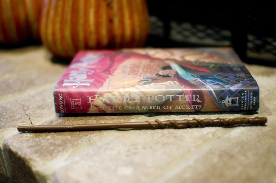 Wand and Book Photo #6