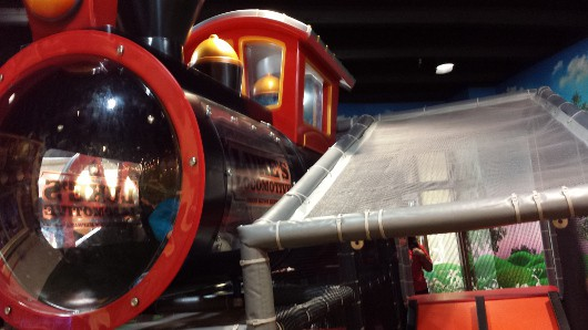 First Methodist Indoor Park Train