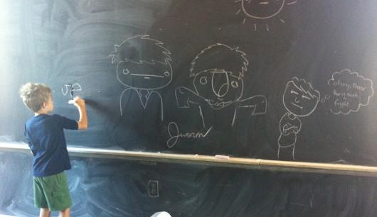 Jerry Built Chalkboard
