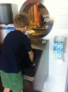 Jerry Built Handwashing Station