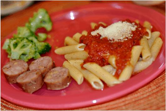 Make Your Own Pasta Sauce Dinner