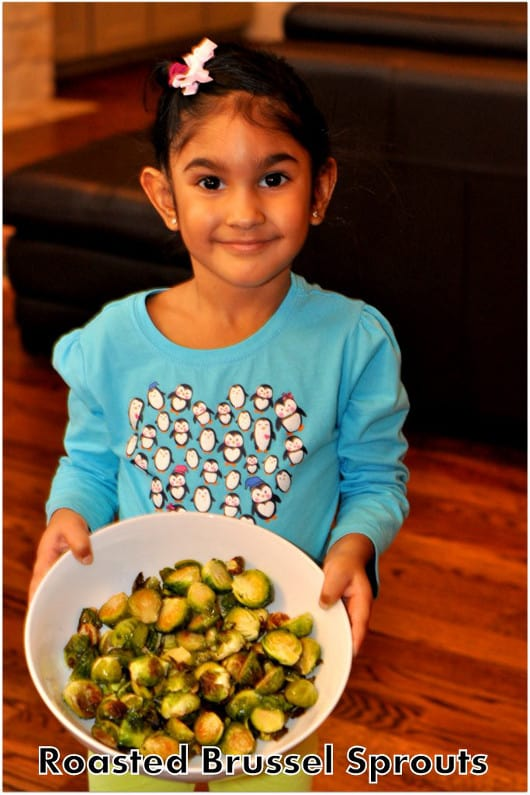 Pretty Girl and Brussels Sprouts
