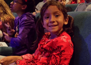Senia at Best Christmas Pageant Ever