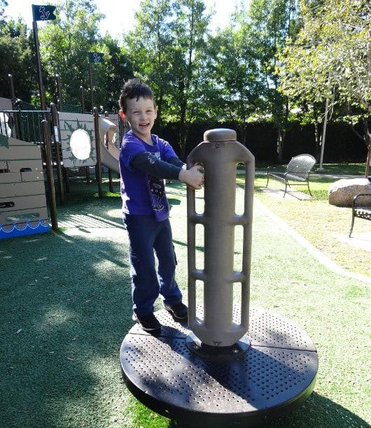 Xander at Huffington Park