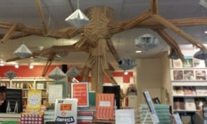 Brazos Bookstore Christmas Tree