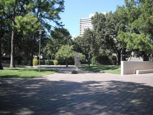 Cullen Sculpture Garden at Museum of Fine Arts Houston