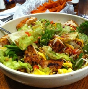 Fuddruckers Chef Salad