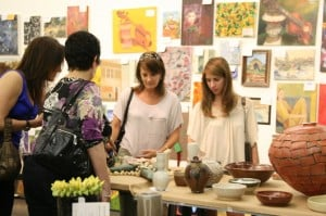 Glassell Student Art Sale