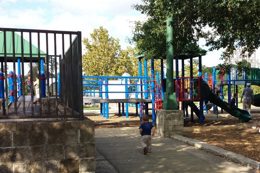 Hermann Park Bigger Playstructure