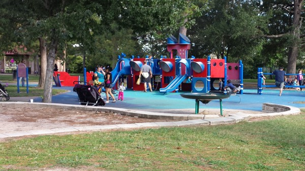 Hermann Park Smaller Playstructure